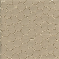Majestic Stone Latte Tan Contemporary Embossed Faux Silk Drapery Fabric