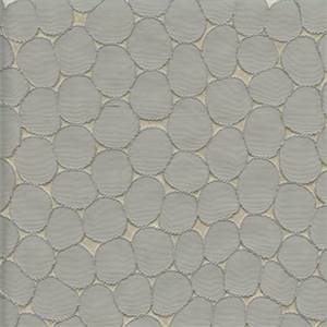 Majestic Stone Silver Contemporary Embossed Faux Silk Drapery Fabric
