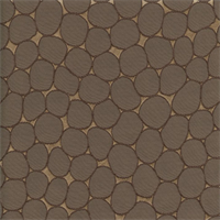 Majestic Stone Mocha Brown Contemporary Embossed Faux Silk Drapery Fabric