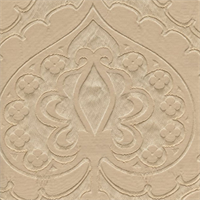Majestic Heart Alabaster Ivory Contemporary Embossed Faux Silk Drapery Fabric