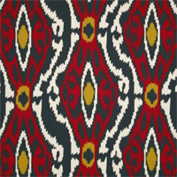 Sherpa Timberwolf Macon Red Contemporary Drapery Fabric by Premier 4.5 Yard Piece