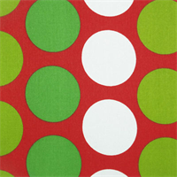 Fancy Lipstick/Chartreuse by Premier Prints Drapery Fabric