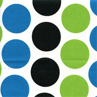 Fancy Wild Polka Dot Drapery Fabric by Premier Prints Swatch