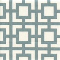 Gigi Saffron Macon Gray Geometric Fabric by Premier Prints Swatch