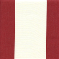 Cotillion Red Stripe Drapery Fabric