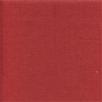 Liam Spice Red Solid Linen Look Drapery Fabric