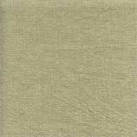 Wrangler Sprout Green Linen Look Solid Drapery Fabric Swatch