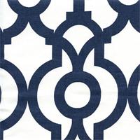 Lyon Premier Navy Contemporary Drapery Fabric by Premier Prints Swatch