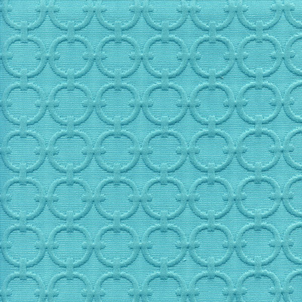 Full circle turquoise blue matelasse fabric sw47989 for Cheap fabric by the yard