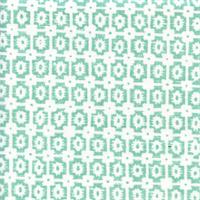 OXF Paloma Turquoise Green Contemporary Print Drapery Fabric