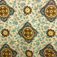 Medina Jasper Green Contemporary Drapery Fabric Swatch