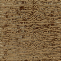 Novice Desert Brown Chenille Animal Print Upholstery Fabric