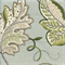 Leaf Sampler Cir Cloud Floral Print Drapery Fabric Swatch