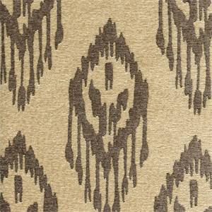 Nashira Grey Chenille Ikat Upholstery Fabric by Swavelle Mill Creek Swatch