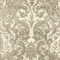 Gilsey Mushroom Grey Chenille Paisley Upholstery Fabric by Swavelle Mill Creek Swatch