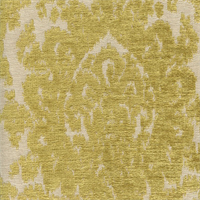 Camryn Chartreuse Green Chenille Ikat Upholstery Fabric by Swavelle Mill Creek Swatch
