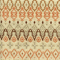 M9628 Ginger Brown Orange Contemporary Upholstery Fabric by Barrow Merrimac Swatch