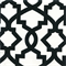 Sheffield Shadow Black Contemporary Drapery Fabric Swatch