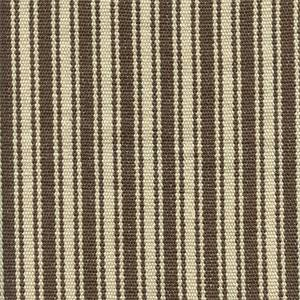 Frontier Stripe Khaki Tan Grey Upholstery Fabric
