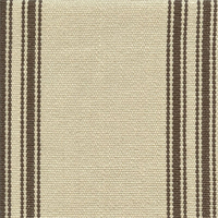 Homestead Stripe Sandstone Tan Grey Upholstery Fabric Swatch