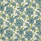 Riley Oxford Blue Floral Outdoor Fabric by Premier Prints 30 Yard Bolt