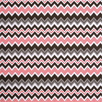 Zazzle Bay Brown Ikat Chevron Stripe Outdoor Fabric by Premier Prints Swatch