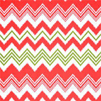 Zazzle Bay Green Ikat Chevron Stripe Outdoor Fabric by Premier Prints