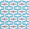 Embrace Storm Ocean Blue Gray Geometric Outdoor Fabric by Premier Prints Swatch