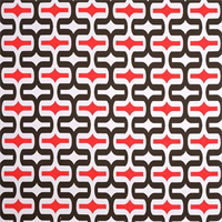 Embrace Bay Brown Geometric Outdoor Fabric by Premier Prints Swatch