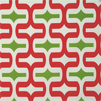 Embrace Bay Green Geometric Outdoor Fabric by Premier Prints Swatch