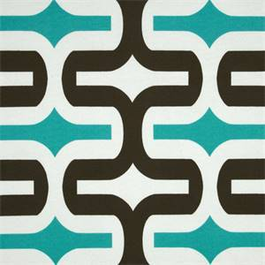 Embrace Ocean Blue Geometric Outdoor Fabric by Premier Prints 30 Yard Bolt