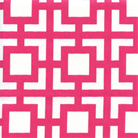 Gigi Candy Pink Contemporary Drapery Fabric by Premier Prints Swatch