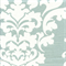 Berlin Snowy Blue Slub Floral Drapery Fabric by Premier Prints Swatch