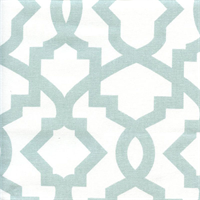 Sheffield Snowy Blue Contemporary Drapery Fabric Swatch
