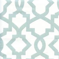 Sheffield Snowy Blue Contemporary Drapery Fabric Swatch