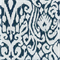 M9626 Aegean Blue Ikat Upholstery Fabric by Barrow Merrimac Swatch