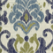 Kikori Tide Blue Ikat Drapery Fabric by Swavelle Mill Creek Swatch