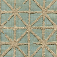 Zephyru Powder Blue Embroidered Drapery Fabric by Swavelle Mill Creek Swatch