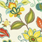 Daisetta Brompton Cameo Green Floral Drapery Fabric by Swavelle Mill Creek Swatch