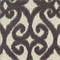 Bioko Slate Grey Ikat Upholstery Fabric by Swavelle Mill Creek Swatch