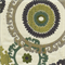 Taraz Aegean Green Suzani Upholstery Fabric by Swavelle Mill Creek Swatch