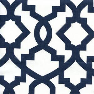 Sheffield Premier Navy Contemporary Drapery Fabric  30 Yard Bolt