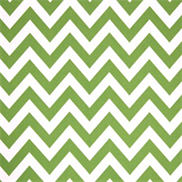 Outdoor Zig Zag Bay Green Fabric by Premier Prints