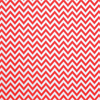 Outdoor Zig Zag Calypso Red Fabric by Premier Prints