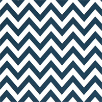 Outdoor Zig Zag Oxford Blue Fabric by Premier Prints