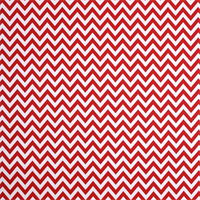 Outdoor Zig Zag Rojo Red Fabric by Premier Prints