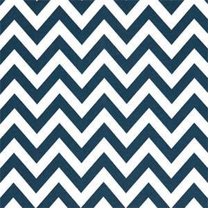 Outdoor Zig Zag Oxford Blue Fabric by Premier Prints 30 Yard Bolt