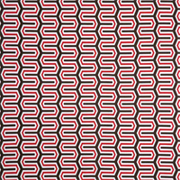 Outdoor Cadee Rojo Red Fabric by Premier Prints Swatch