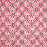 Outdoor Lalo Calypso Red Geometric Fabric by Premier Prints