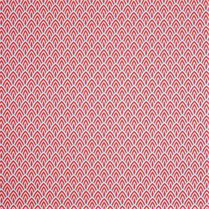 Outdoor Lalo Calypso Red Geometric Fabric by Premier Prints 30 Yard Bolt